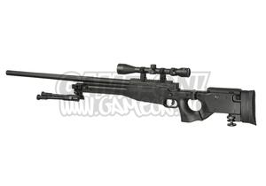 Bilde av Well - AW .338 Oppgradert Sniper Rifle Set - Svart
