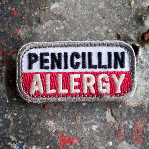 Bilde av Patch Penicillin Allergy MD