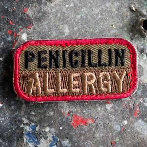 Bilde av Patch Penicillin Allergy FG