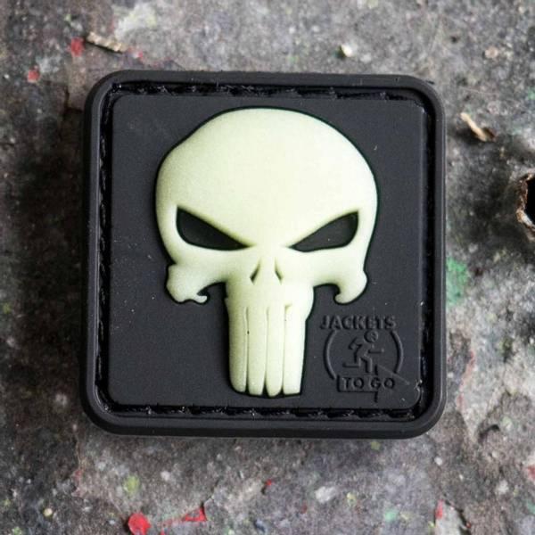 Bilde av Punisher Patch - Lyser i Mørket