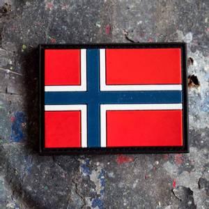 Bilde av Patch - Norsk Flagg - PVC