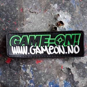 Bilde av Patch - Game-On Logo - PVC