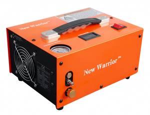 Bilde av New Warrior 12V/220V med Autostop - Elektrisk Kompressor til PCP