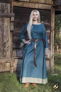 Bilde av Kjole - Freya - Blue/Dryad Green 6-8