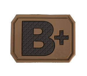 Bilde av Blodtype 3D Patch - Tan - B+