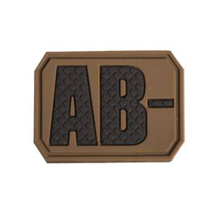 Bilde av Blodtype 3D Patch - Tan - AB-