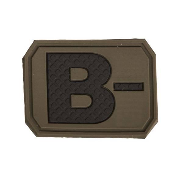 Bilde av Blodtype 3D Patch - Olive - B-
