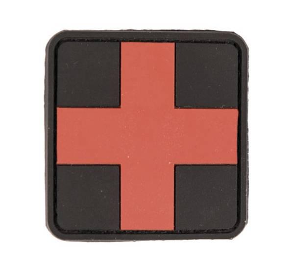 Bilde av PVC 3D Patch - First Aid - Rød