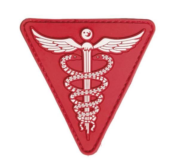 Bilde av PVC 3D Patch - Medic - Rød