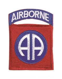 Bilde av US 82nd Airborne Division - Tekstilpatch