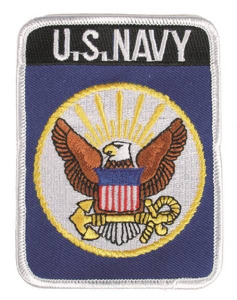 Bilde av US Navy - Tekstilpatch
