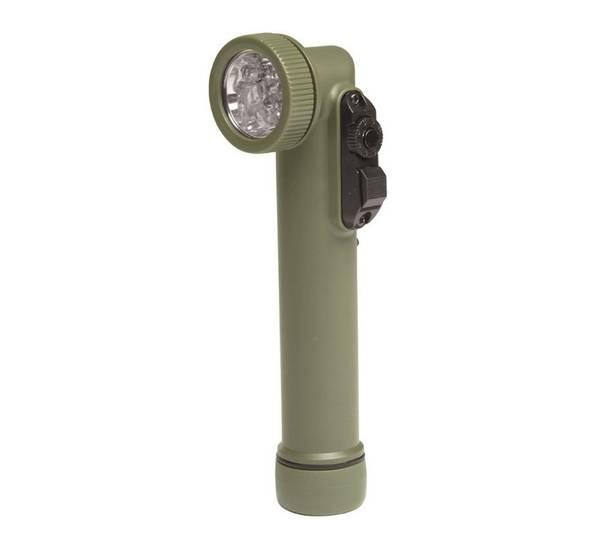 Bilde av LED vinkellykt - 6 leds - Olive