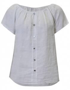 Bilde av Hvit MAPP Line basic bluse