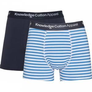 Bilde av Hvit blå stripete