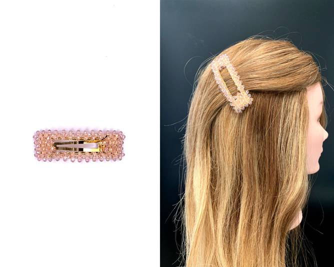 Bilde av OnFleek Clear Clip Light Pink