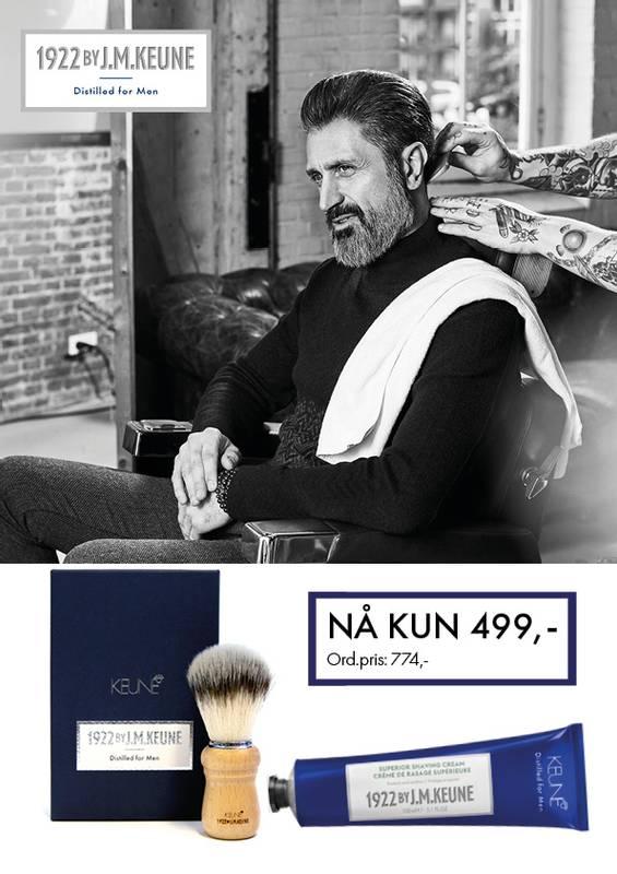 Bilde av 1922 by J.M. Keune Superior Shaving Cream & Brush