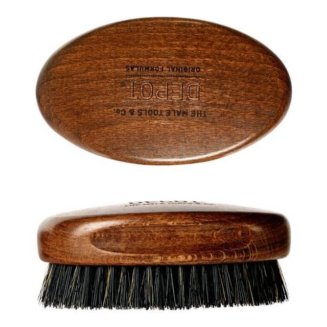 Bilde av Depot Wooden Beard Brush