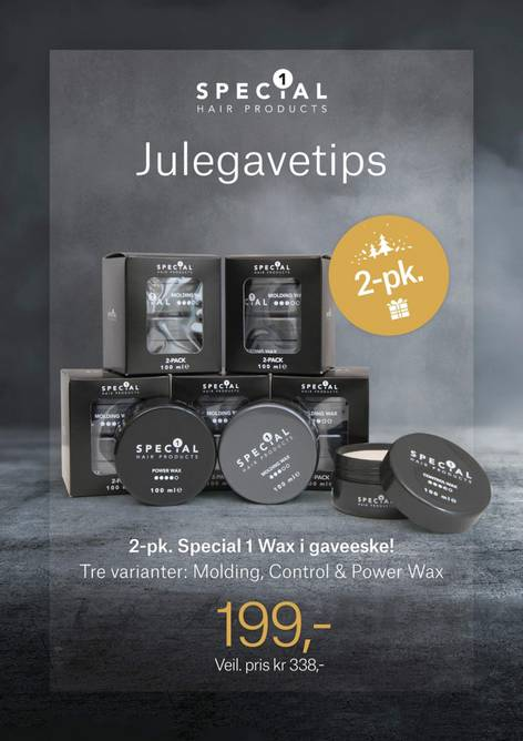 Bilde av 2-pk Special 1 Power Wax