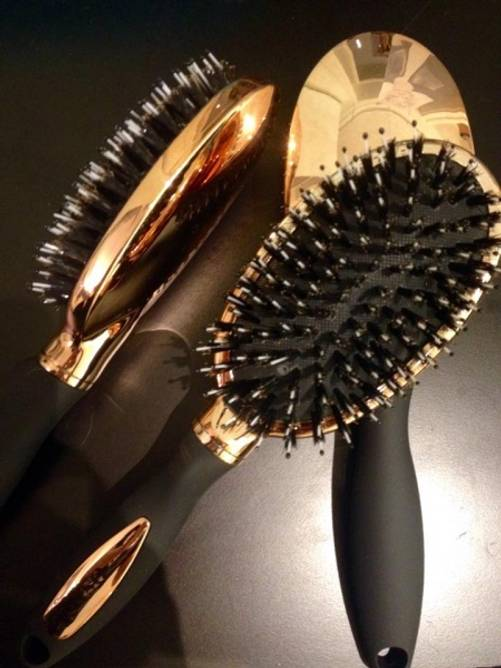Bilde av Gold Brush Oval