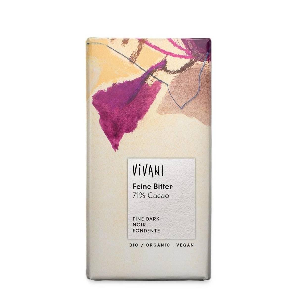 Vivani Fine Dark 71 % Cocoa 100 gram