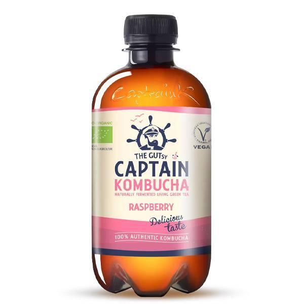 Bilde av Captain Kombucha Raspberry 400 ml