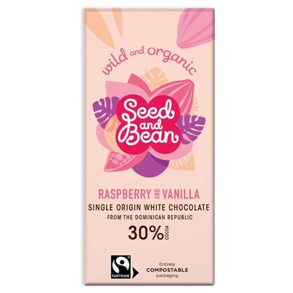 Bilde av Seed & Bean White Raspberry & Vanilla  85 gram