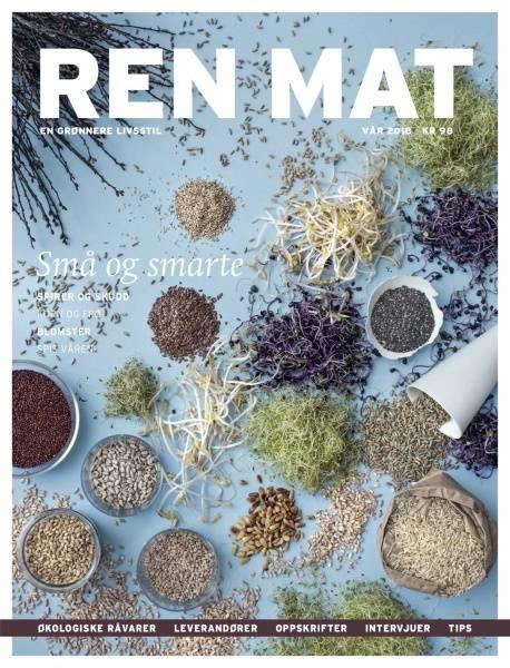 Bilde av Ren Mat magasinet 2018 Vår Spirer og Skudd *1 igjen*