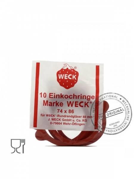 Bilde av Weck tilbehør 80mm gummiringer 10-pk medium (RR80)