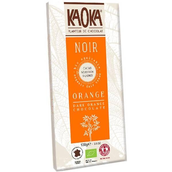 Bilde av Kaoka mørk sjokolade m/Applesin 58% 100 gr