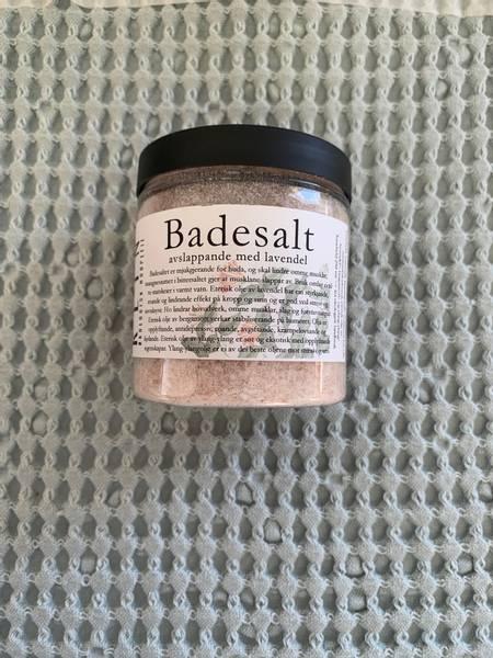 Bilde av Rein badesalt avslappende Lavendel 250 ml* 1 igjen*