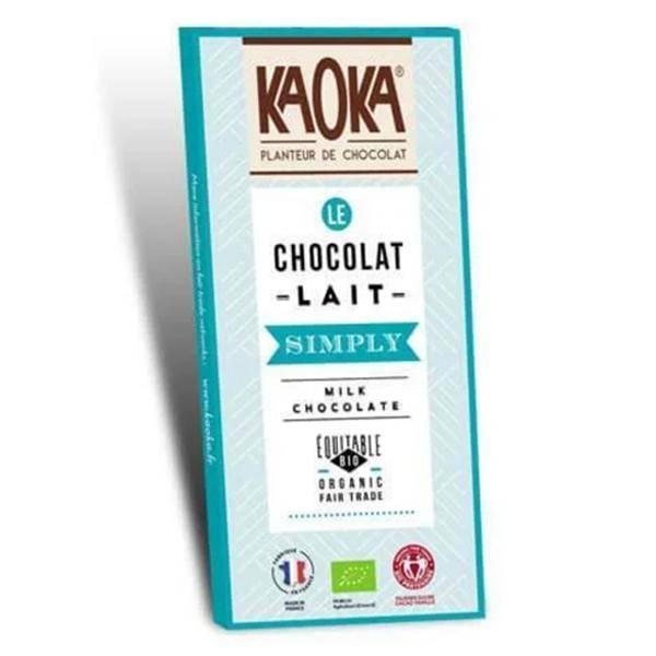 Bilde av Kaoka Simply melkesjokolade 32% 80 gr