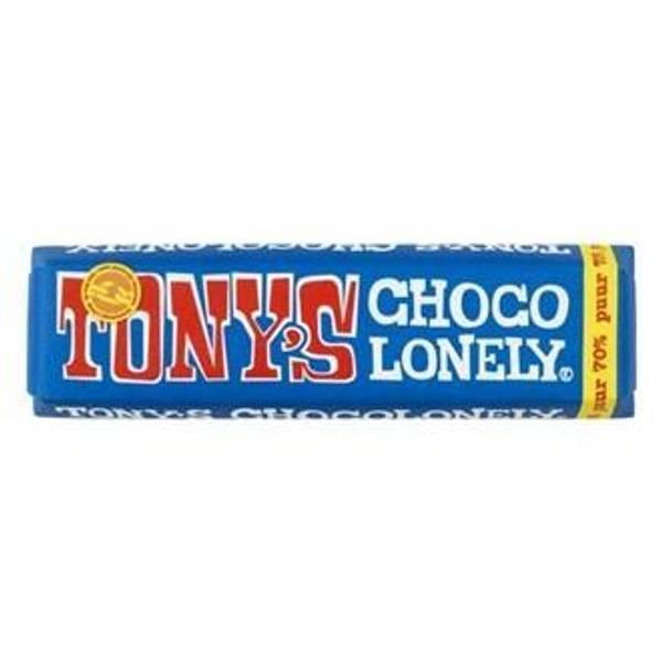Bilde av Tony's Chocolonely mørk sjokolade 70% 50 g