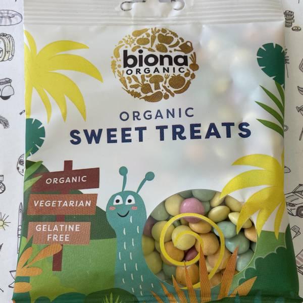 Bilde av Biona sjokoladelinser 60 gr (mini non-stop)