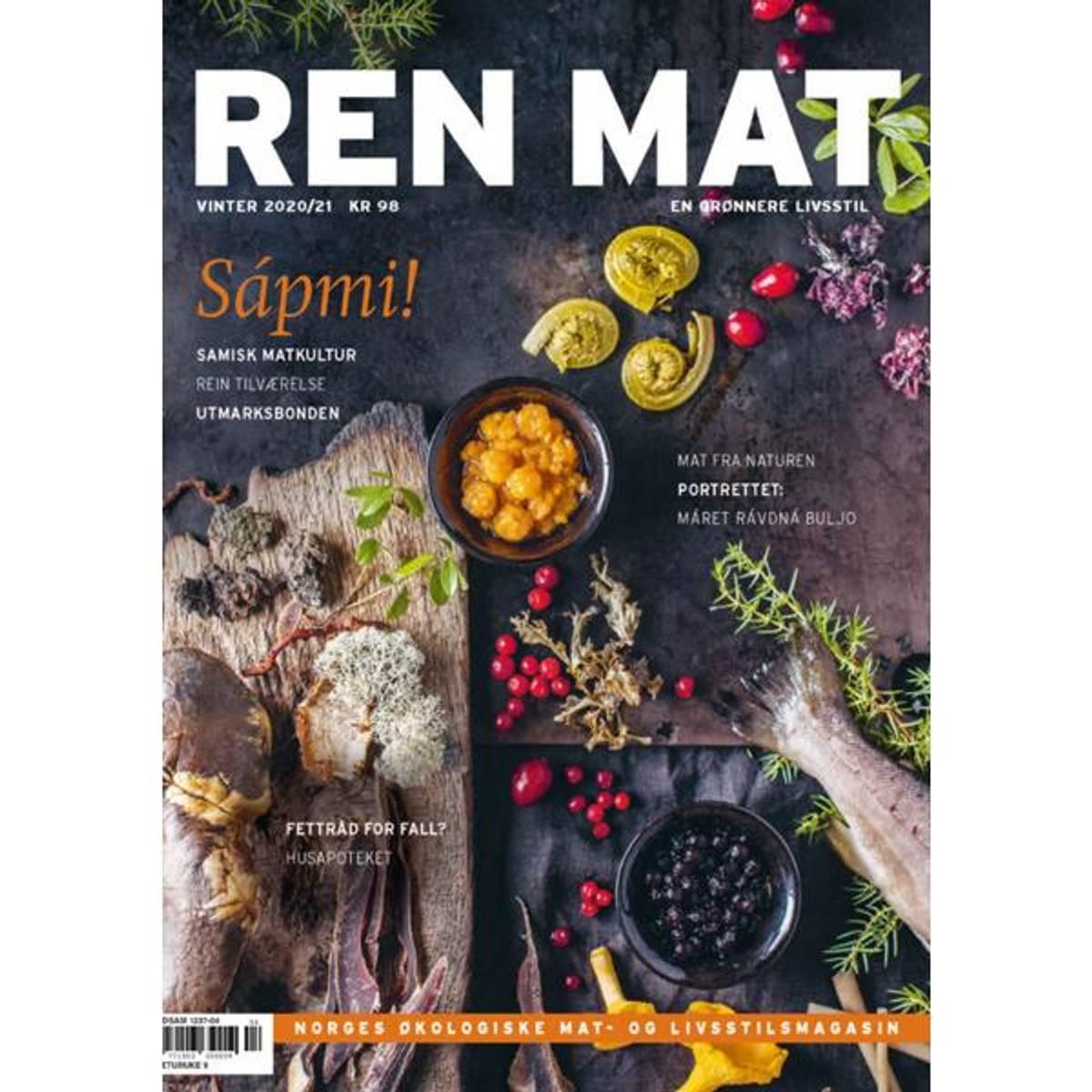 NY! Ren Mat magasinet 2020/21 Vinter Samisk mat
