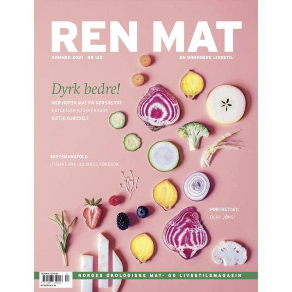 Bilde av NY! Ren Mat magasinet 2021 Sommer Dyrk Bedre