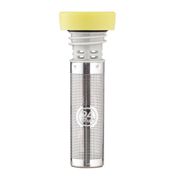 Bilde av 24Bottles Infuser Lid Light Yellow