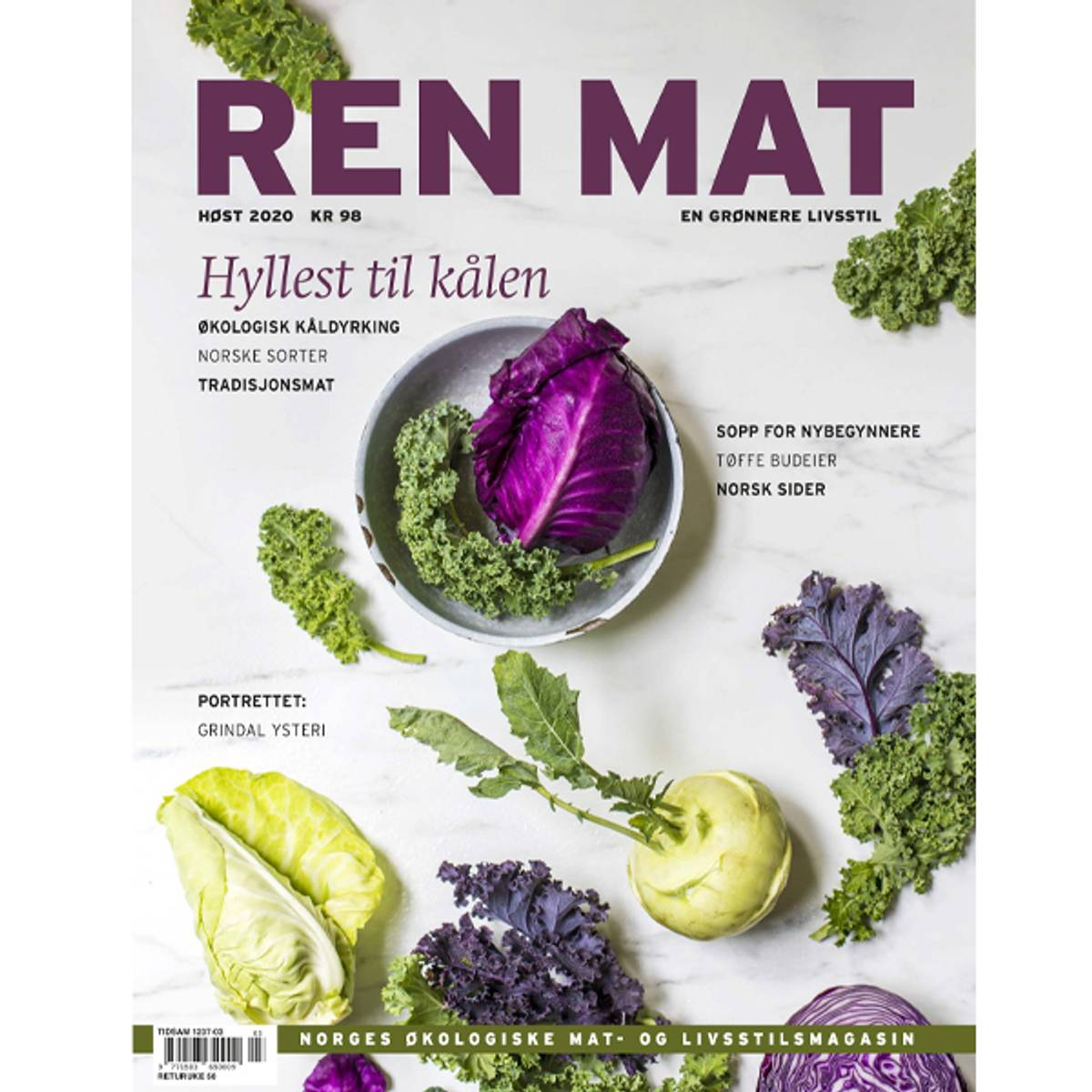 Ren Mat magasinet 2020 Høst Kål