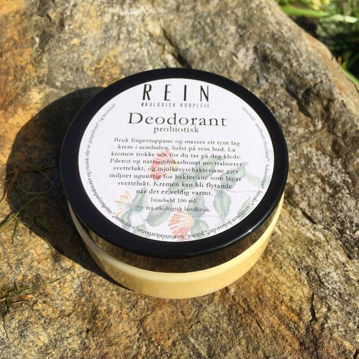 Rein deodorant 75 ml Naturell