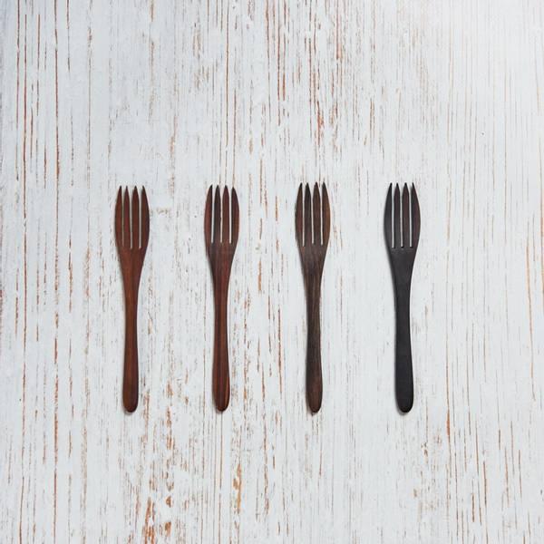 Bilde av CoconutBowls Wooden Sono Fork 4 pack