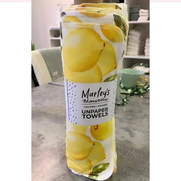 Bilde av Marley's Monsters tørkerull Vintage Lemon på rull 24 ark
