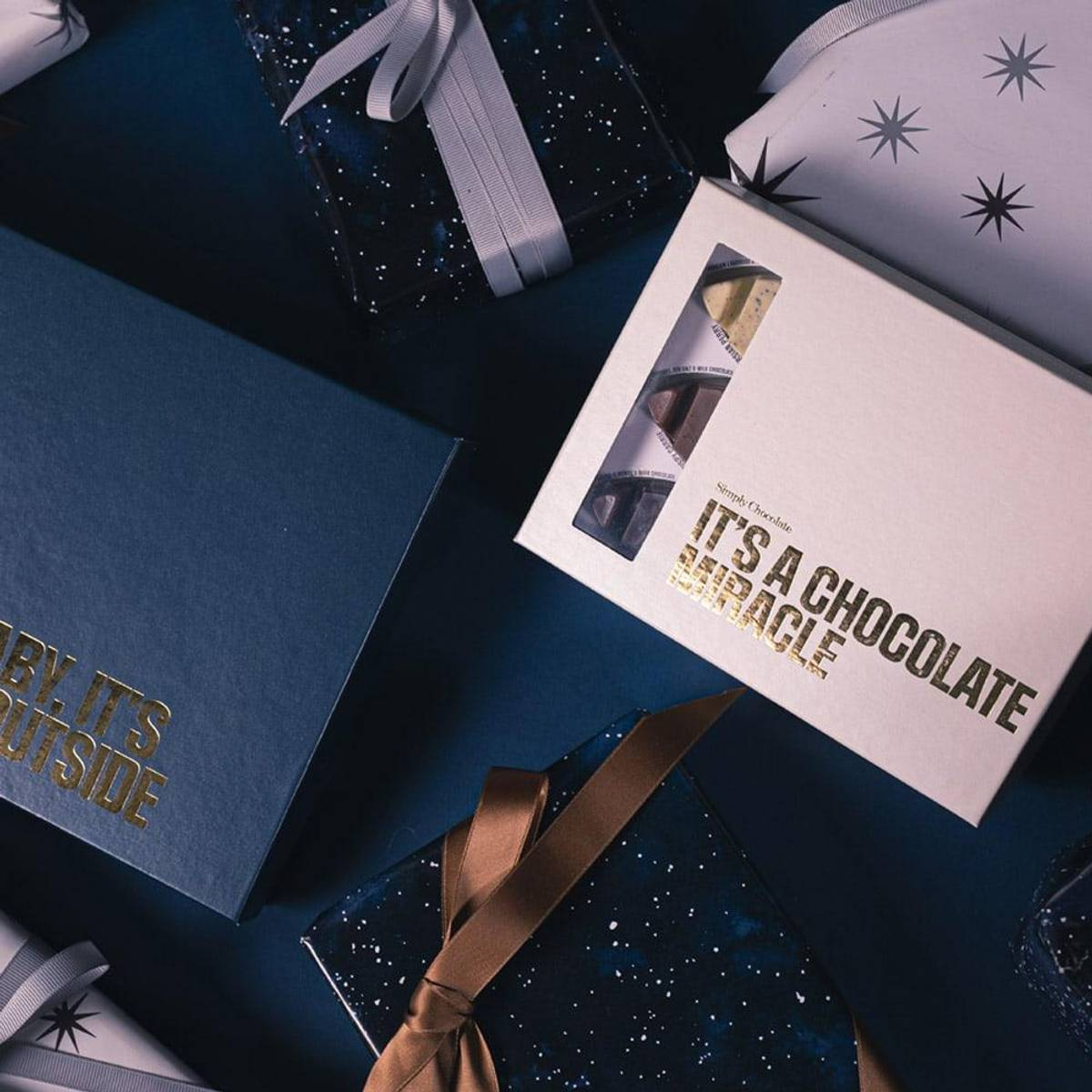 It´s a chocolate miracle box 12pcs 120g