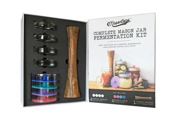 Bilde av Masontops Fermenterings kit 9-deler sett Wide