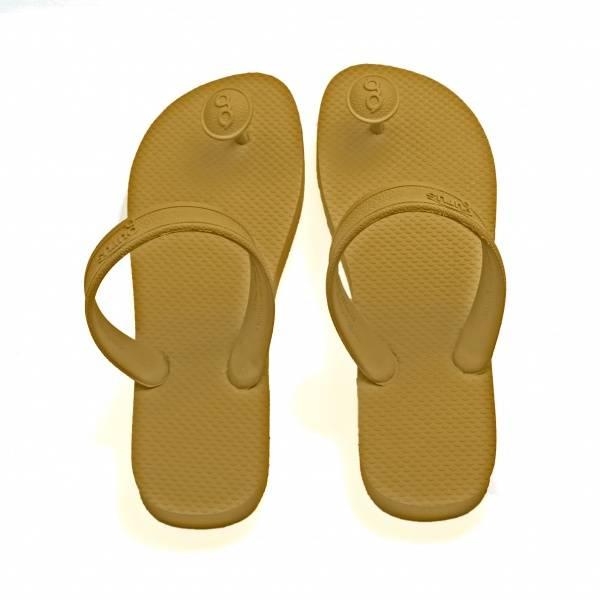 Bilde av Gurus sandaler dame Gull/Khaki *1 par igjen*