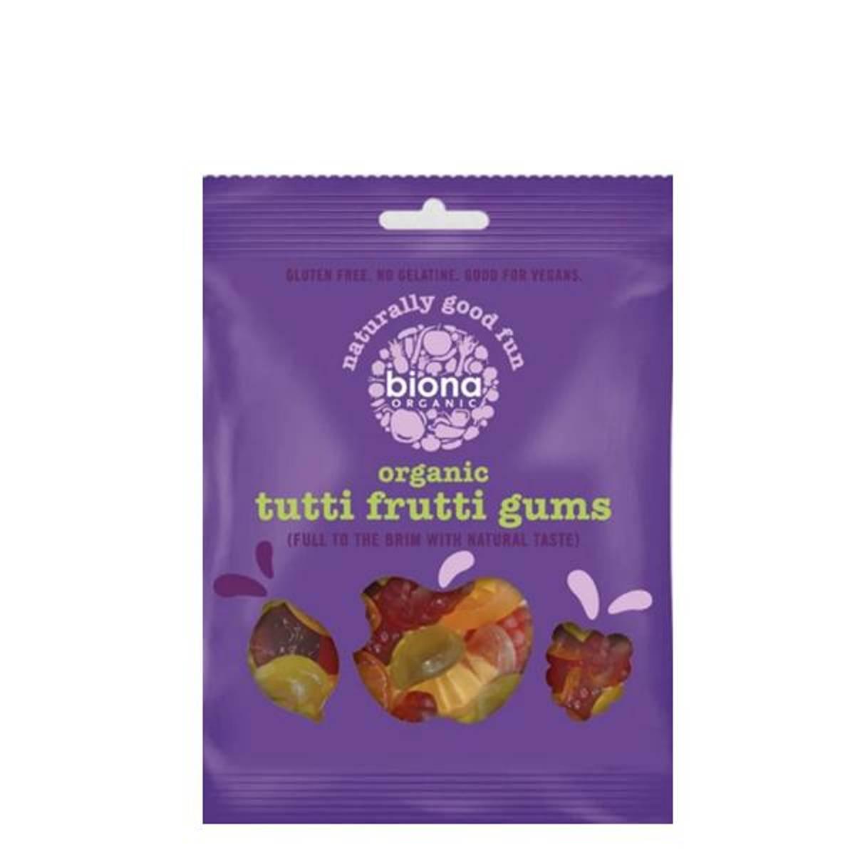 Biona Tutti Frutti Gums 75 gr