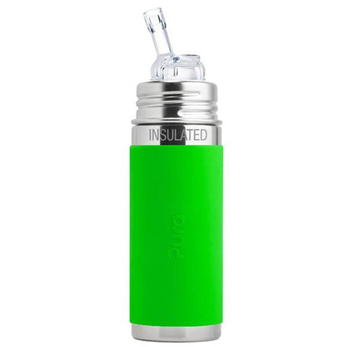 Pura Toddler Straw 250ml Green THERMO