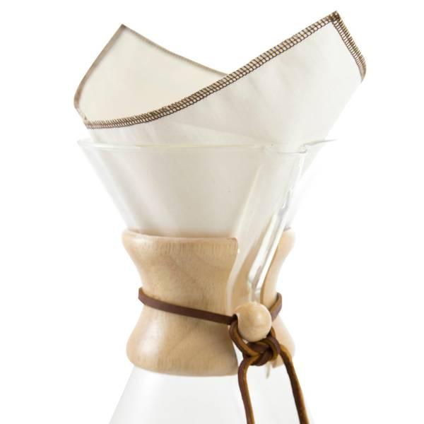 Bilde av CoffeeSock Chemexfilter  6 - 13 kopper (2-pk)