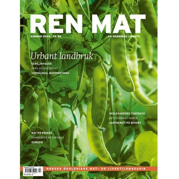 Bilde av Ren Mat magasinet 2020 Sommer Urbant Landbruk