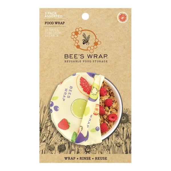 Bilde av Bees Wrap - Assorted 3 pack Fresh Fruit