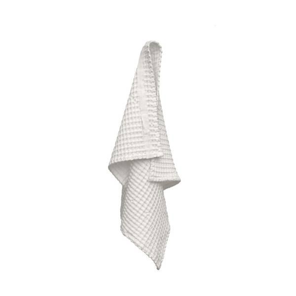 Bilde av Big Waffle Hand Towel Natural White