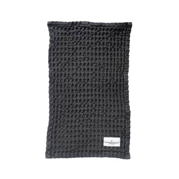 Bilde av Big Waffle Kitchen & Washcloth Dark Grey